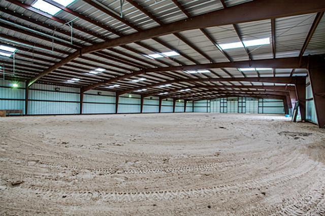 100 x 200 indoor arena