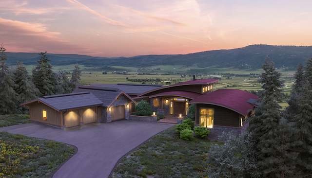 1 AMRC18 Entry Dusk Final Rendering 08.14.18 002 003 - Second Homebuyers Lured By Fly-Fishing Paradise In Steamboat Springs