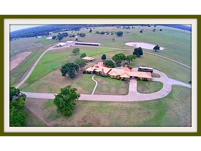Outstanding ranch property with concrete drive and beautiful vie