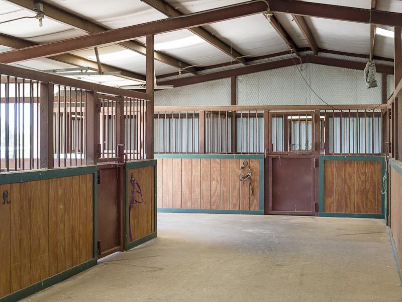 Lone Star Ranch Horse Barn