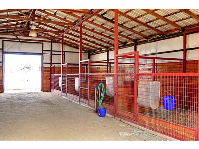 The 8 stall barn