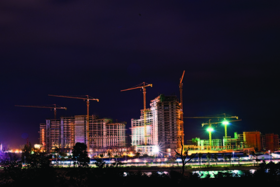 BahaMar_Construction_Night