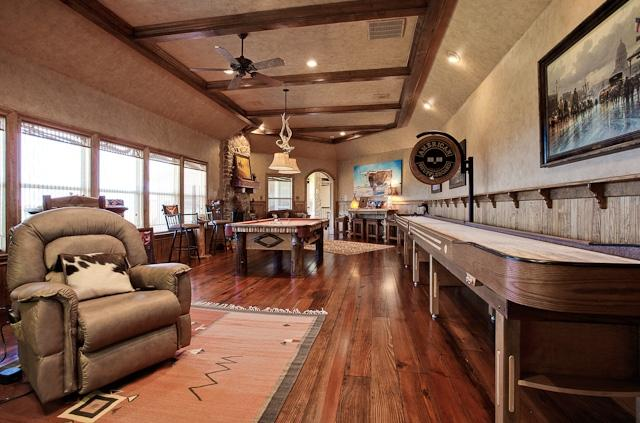 Game Room with Wet Bar