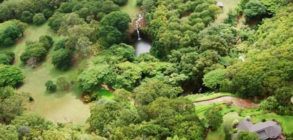 Hanalei Waterfall