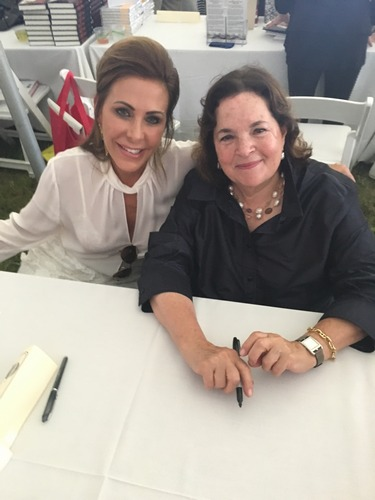 Janelle Friedman and Ina Garten