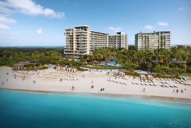 Kimpton Seafire Resort on Seven Mile Beach on the Grand Cayman Island.