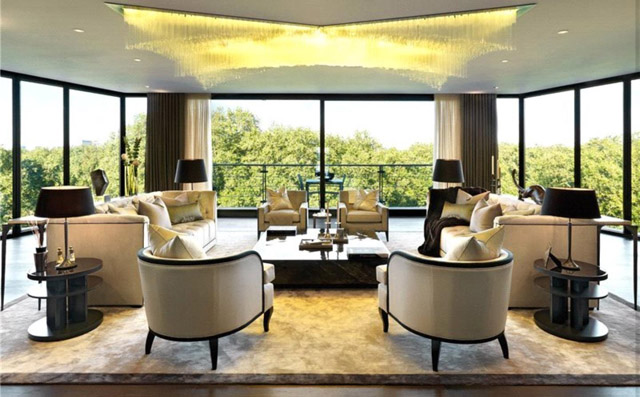 9,000 square foot whole floor at One Park Lane is yours for £62 million