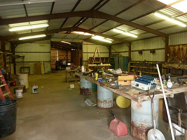 Workshop area - 3-phase electric