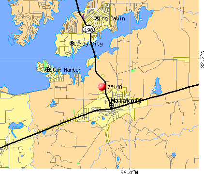 Malakoff-tx-map