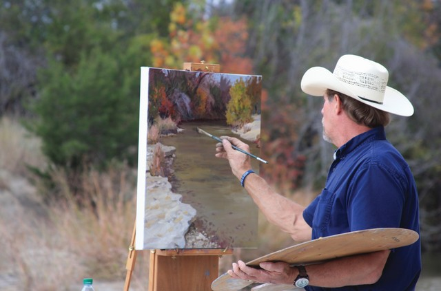 Artist and Clifton resident Martin Grelle.