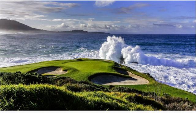 Pebble Beach Golf Links. Photo by Bart Keagy