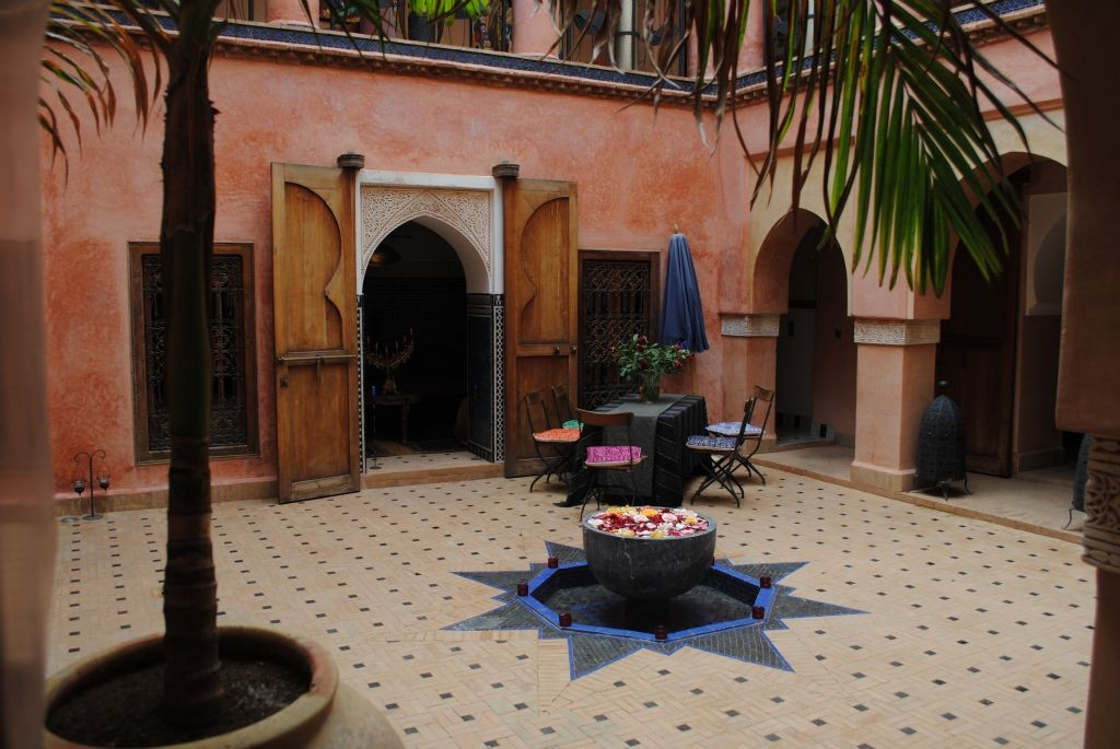 Courtyard with Cooling Fountain