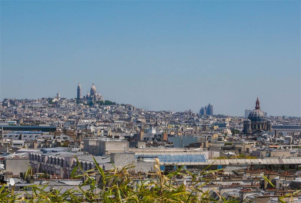A Wallet-Emptying View of Sacre Cour from Champs Elysées Penthouse