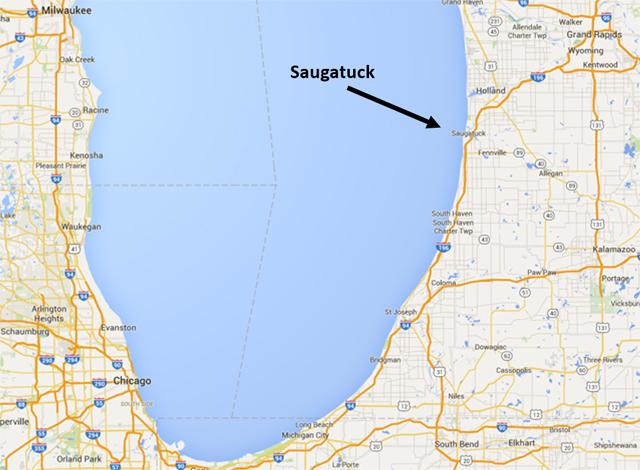 Saugatuck Map 1