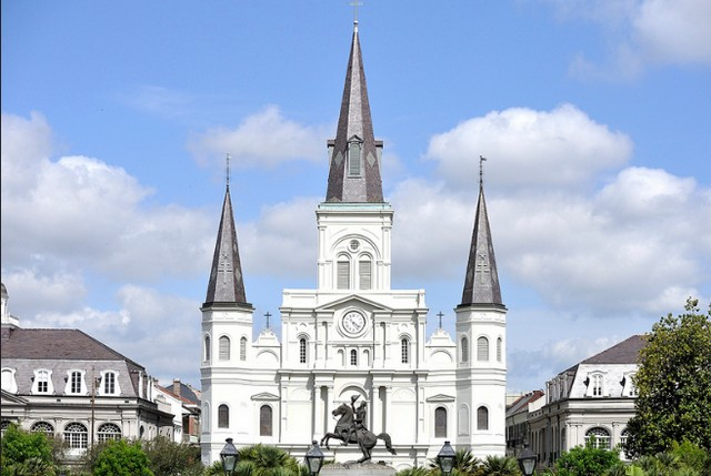 St. Louis Cathedral, New Orleans. Photo by Takahiro Kyono https://www.flickr.com/photos/75972766@N02/7479400566/