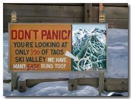 Taos Don't panic