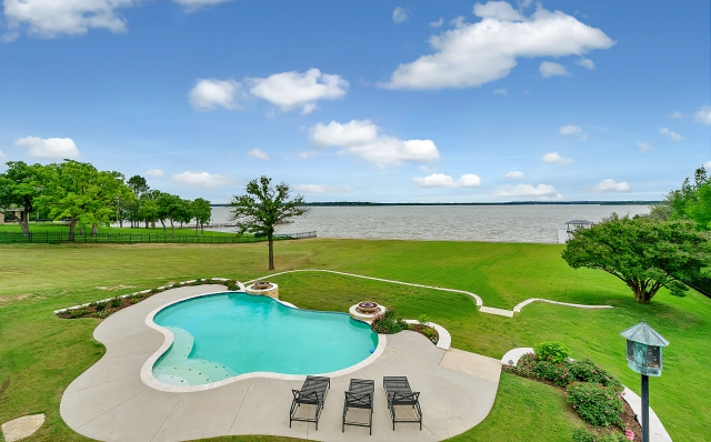 There's nothing quite like a Texas lake house. This one, at 1901 Park St. in Azle, is located close to Fort Worth. All photos: Briggs Freeman Sotheby's International Realty