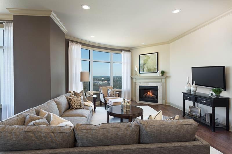 Stretford Unit A Living Room