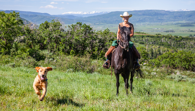 Summer 2019 Trail Ride 60 - Horseplay: Equestrian Facilities Add Rustic Charm to Luxury Colorado Ranch Development in Steamboat Springs, Colorado