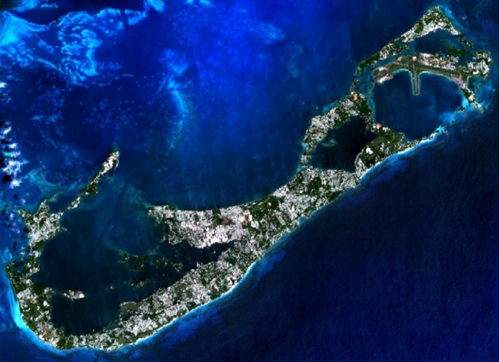 Bermuda from the Air. Courtesy of Wikimedia