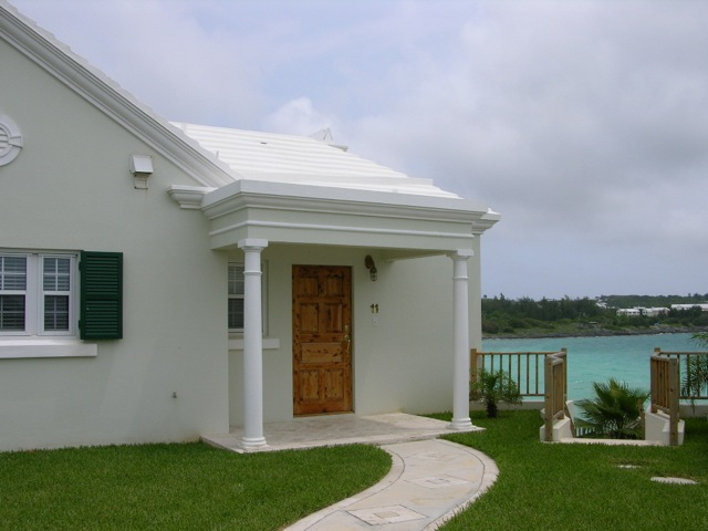 Typical Bermudian Home on the Water. Courtesy of My Bermuda House